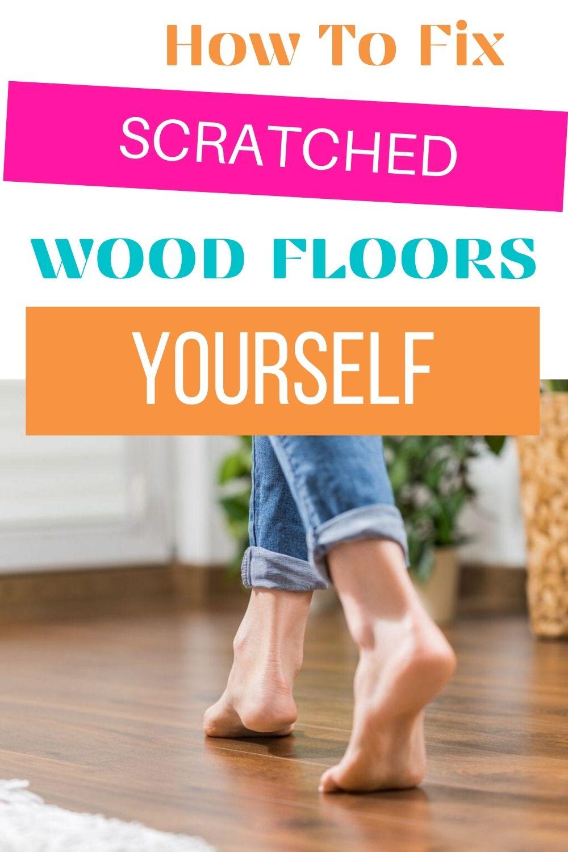 fix floors yourself via @homebyjenn