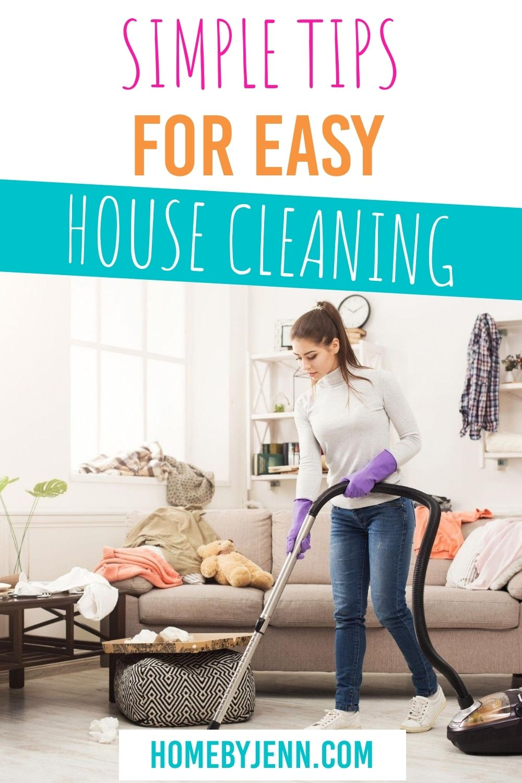someone vacuuming a room via @homebyjenn