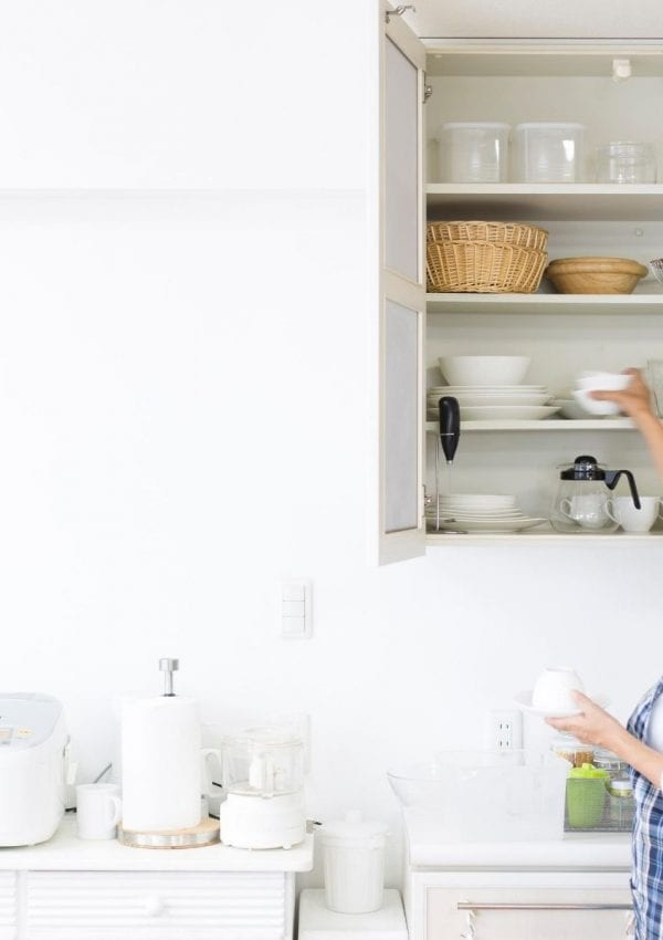 How to Organize Your Kitchen Cupboards + Free Printable