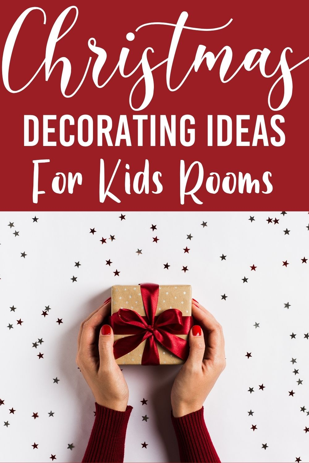 Get the kids into the holiday spirit with Christmas decorating ideas for kids rooms.  These Christmas decoration ideas for kids will be perfect to get into the Christmas spirit. #ChristmasDecorationIdeasForKids #KidRoomChristmasIdeas #KidFriendlyChristmasDecorations via @homebyjenn