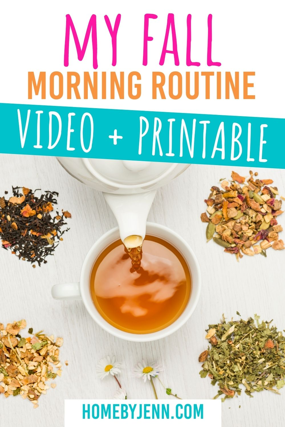 Having a morning routine is important to stay organized. Today I'm sharing my fall morning routine with you. I've included a video walking you through my morning and I've also written it out for you in this blog post. via @homebyjenn