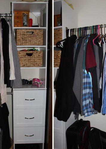 Easy Closet Makeover – How to Organize Your Closet