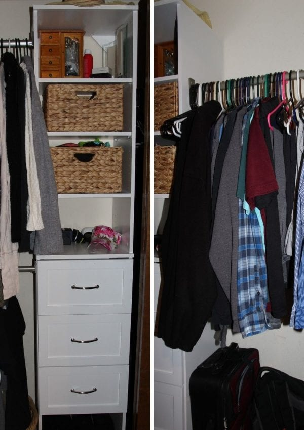 closet makeover after feature