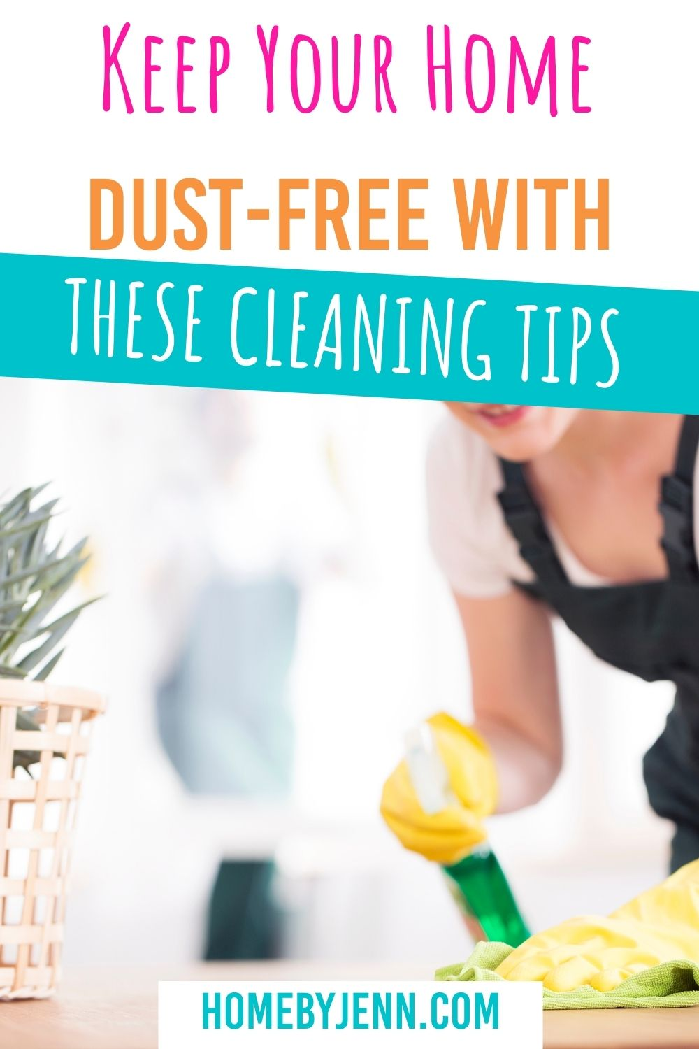 Keep your home dust-free with these simple tips. Dust is like a horror villain that comes back sequel after sequel. No matter how many times you dust your home, there it is again. Before you give up, let's look at some tips to help keep your home dust-free this year. via @homebyjenn