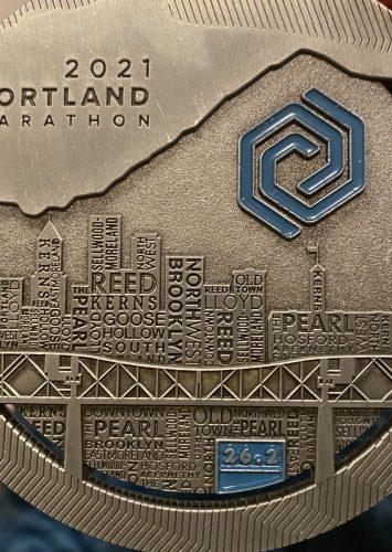 Portland Marathon Recap